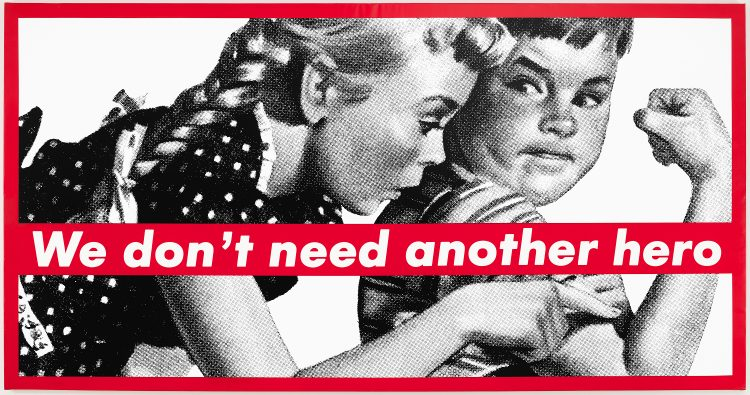 Barbara Kruger — AWARE Women artists / Femmes artistes
