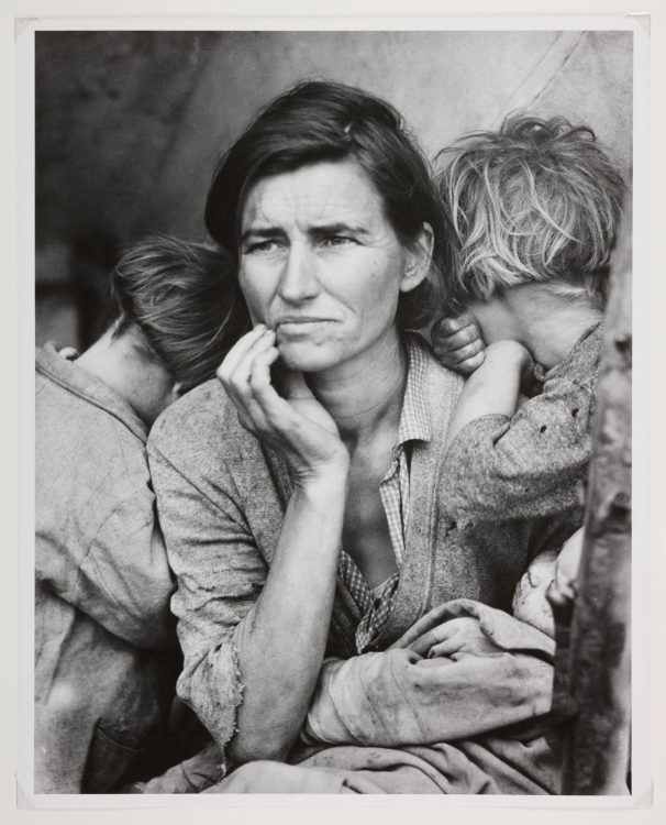 Dorothea Lange — AWARE Women artists / Femmes artistes