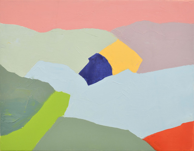 Etel Adnan at the Arab World Institute - AWARE