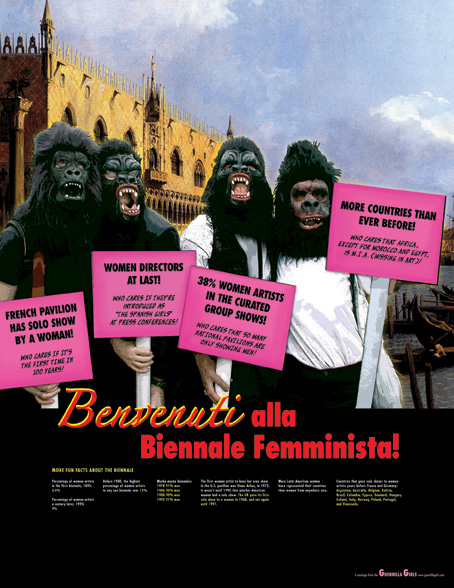 Guerrilla Girls - AWARE