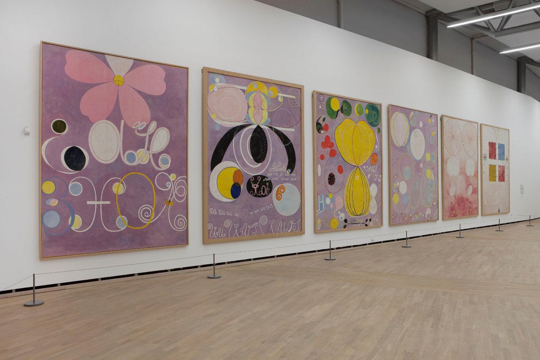Hilma af Klint : la mère de l'abstraction - AWARE Artistes femmes / women artists