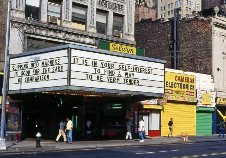 Jenny Holzer — AWARE Women artists / Femmes artistes