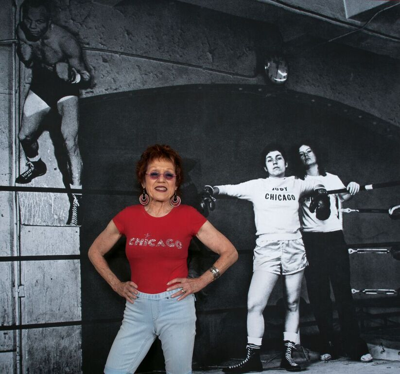 Why not Judy Chicago ? - AWARE Artistes femmes / women artists