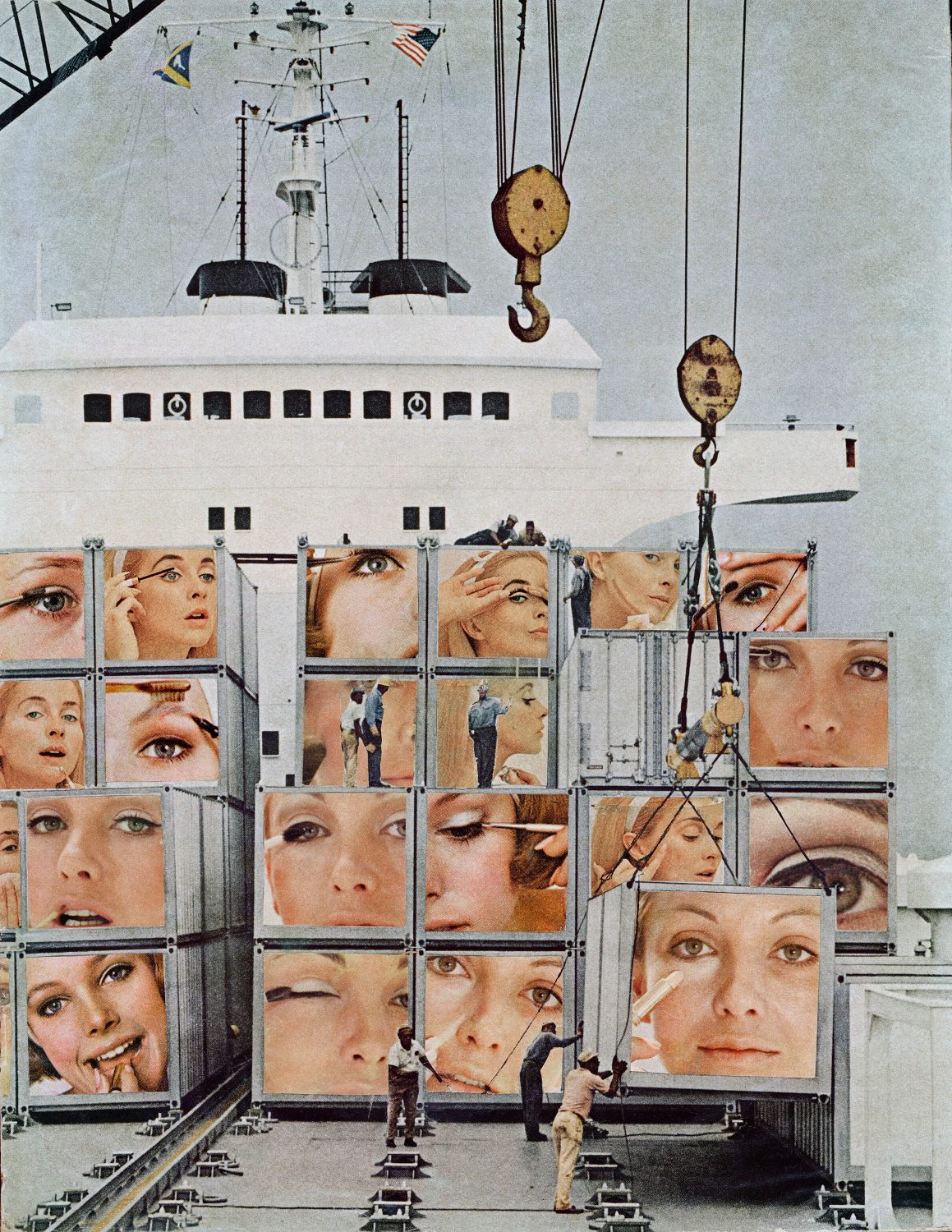 Martha Rosler, Cargo Cult (from Body Beautiful - Body Knows No Pain), 1966-72