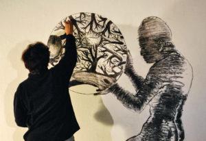 Nalini Malani : une œuvre entre expérience intime et tourments de l'Histoire ? - AWARE Artistes femmes / women artists