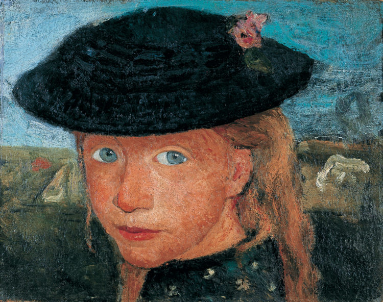 Paula Modersohn-Becker, l'intensité d'un regard - AWARE