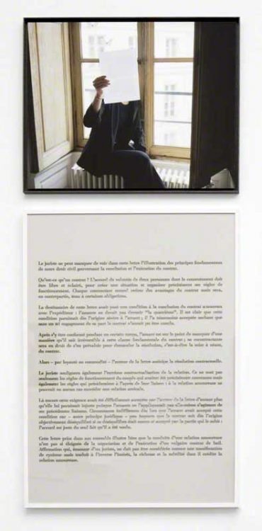 Sophie Calle — AWARE Women artists / Femmes artistes