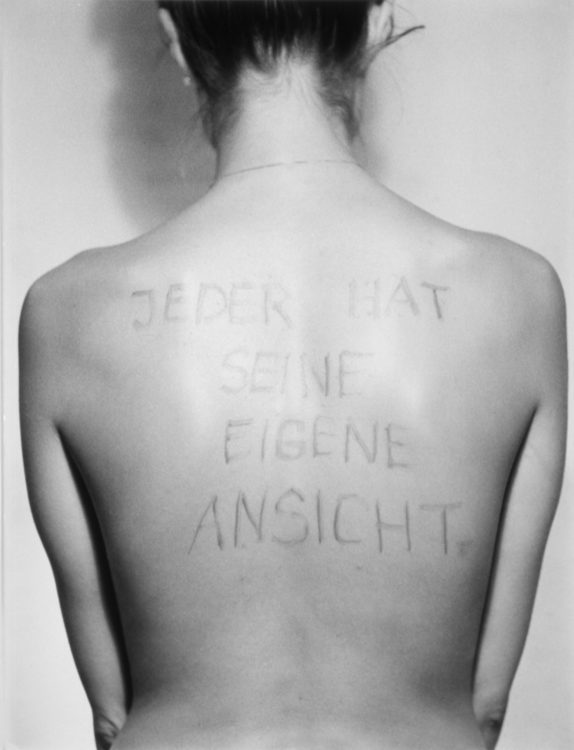 Birgit Jürgenssen — AWARE Women artists / Femmes artistes