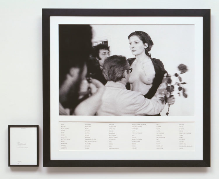 Marina Abramović — AWARE Women artists / Femmes artistes