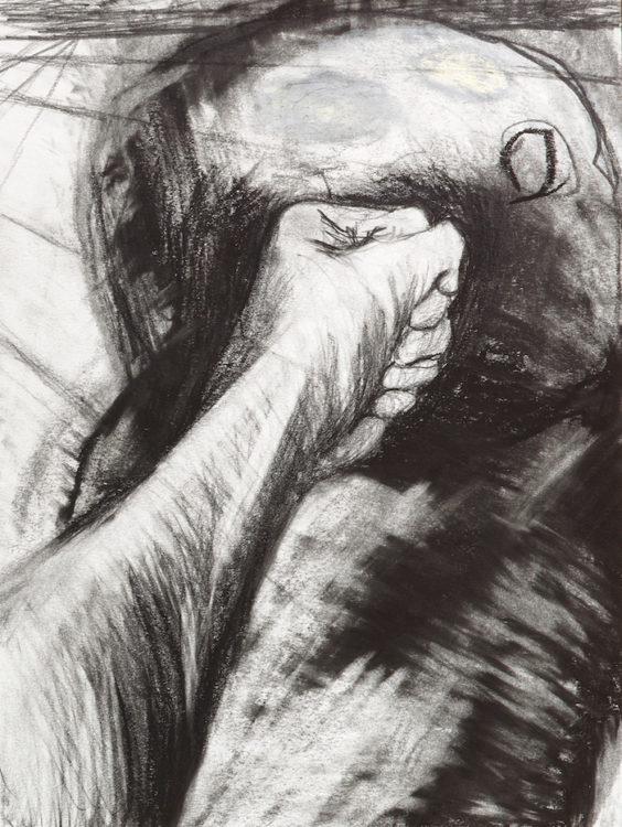Miriam Cahn. DAS GENAUE. HINSCHAUEN - AWARE