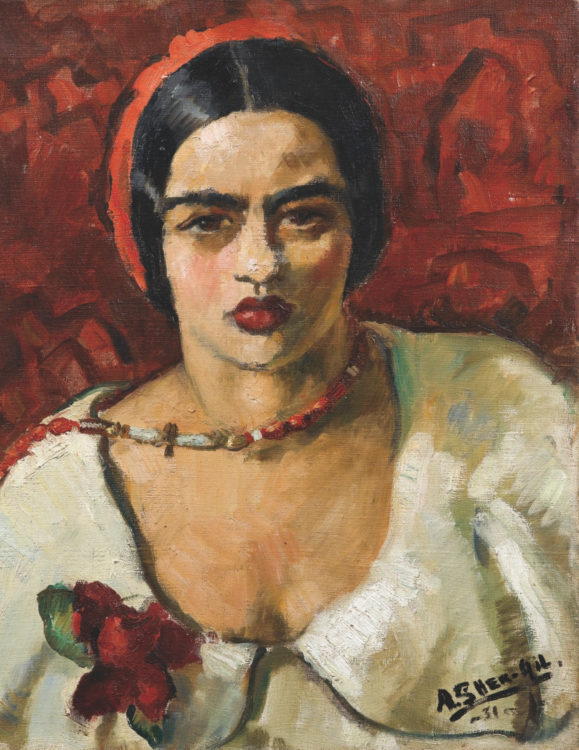 This is me The Indian-Hungarian Modernist Amrita Sher-Gil - AWARE