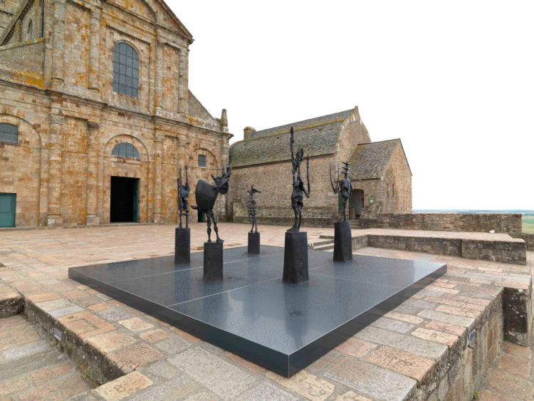 Germaine Richier at Mont-Saint-Michel, Marked by Metamorphosis - AWARE