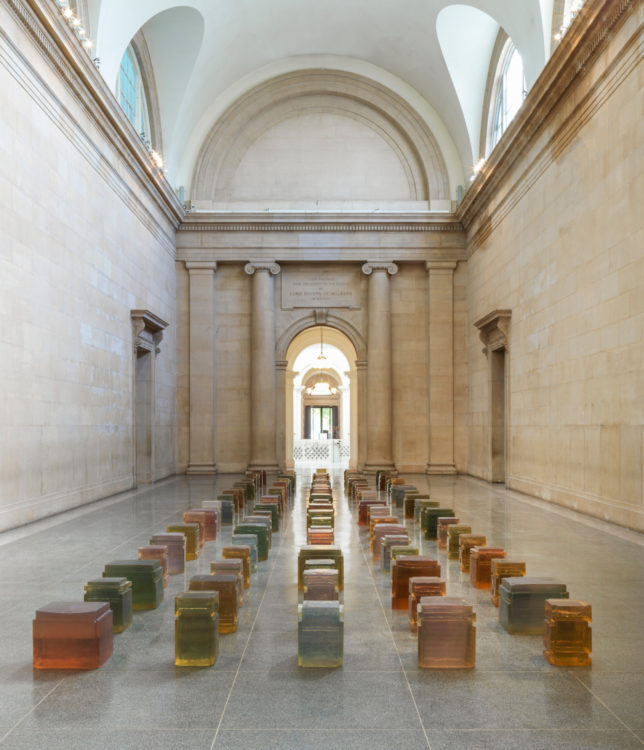 Rendre visible l'invisible : Rachel Whiteread à Londres - AWARE