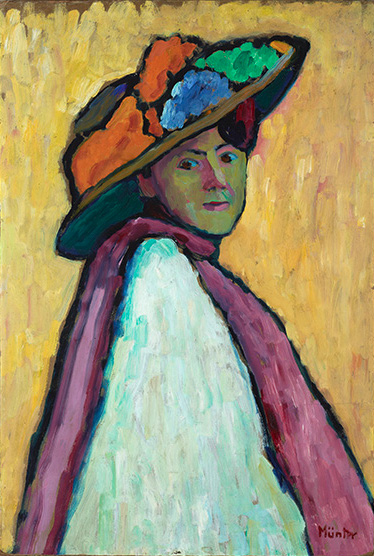 Gabriele Münter — AWARE Women artists / Femmes artistes