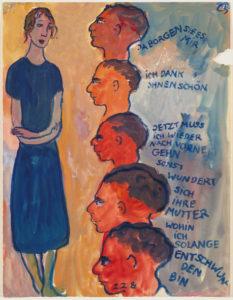 Le jeu de la vie par Charlotte Salomon - AWARE Artistes femmes / women artists