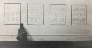 Blythe Bohnen et le concept du corps en mouvement : du tracé à la trace - AWARE Artistes femmes / women artists