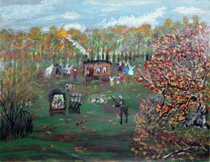 À la découverte de Ceija Stojka, artiste rom et rescapée des camps - AWARE Artistes femmes / women artists