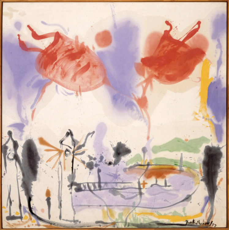 Helen Frankenthaler — AWARE Women artists / Femmes artistes
