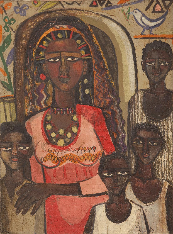uk availability fb61f 66dad gazbia-sirry portrait-of-nubian-family n-d- aware women-artists artistes- femmes-1109x1500.jpg