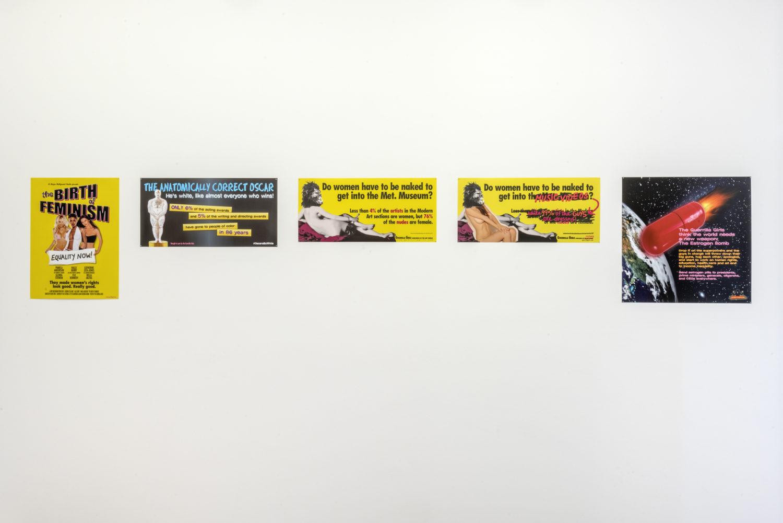 THE GUERRILLA GIRLS et LA BARBE - AWARE Artistes femmes / women artists
