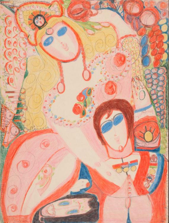 Aloïse (Aloïse Corbaz dite) — AWARE Women artists / Femmes artistes