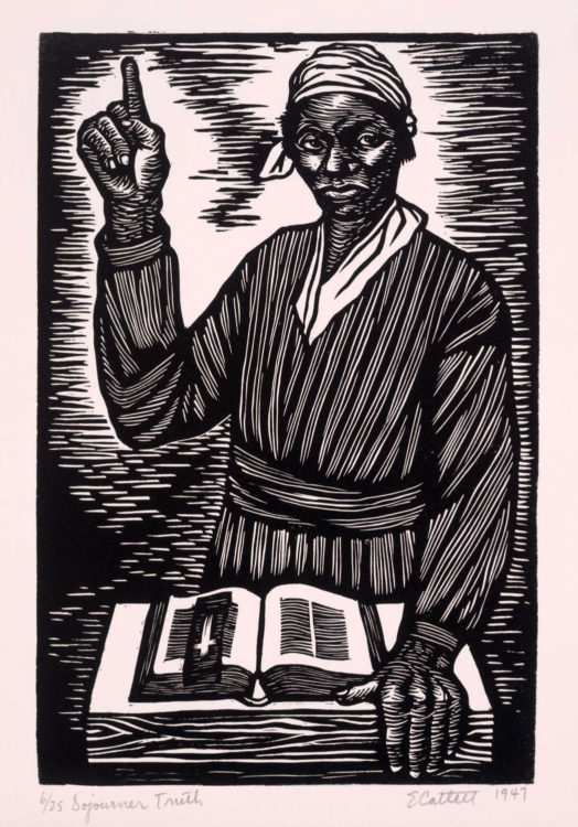 Elizabeth Catlett — AWARE Women artists / Femmes artistes