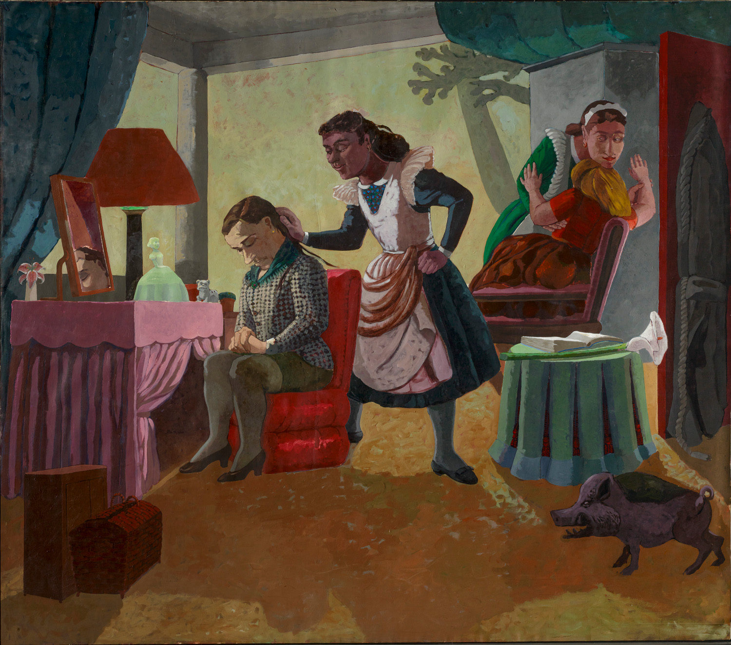 Paula Rego: Once again becoming sublimely unjust - AWARE Artistes femmes / women artists