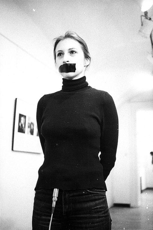 Sanja  Iveković — AWARE Women artists / Femmes artistes