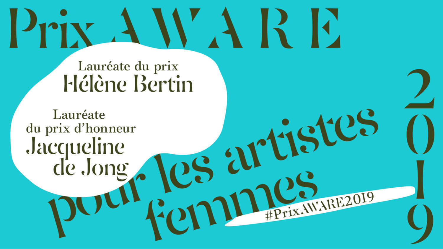 2019 - AWARE Artistes femmes / women artists