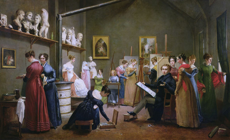 Women's Histories artists before 1900 - AWARE