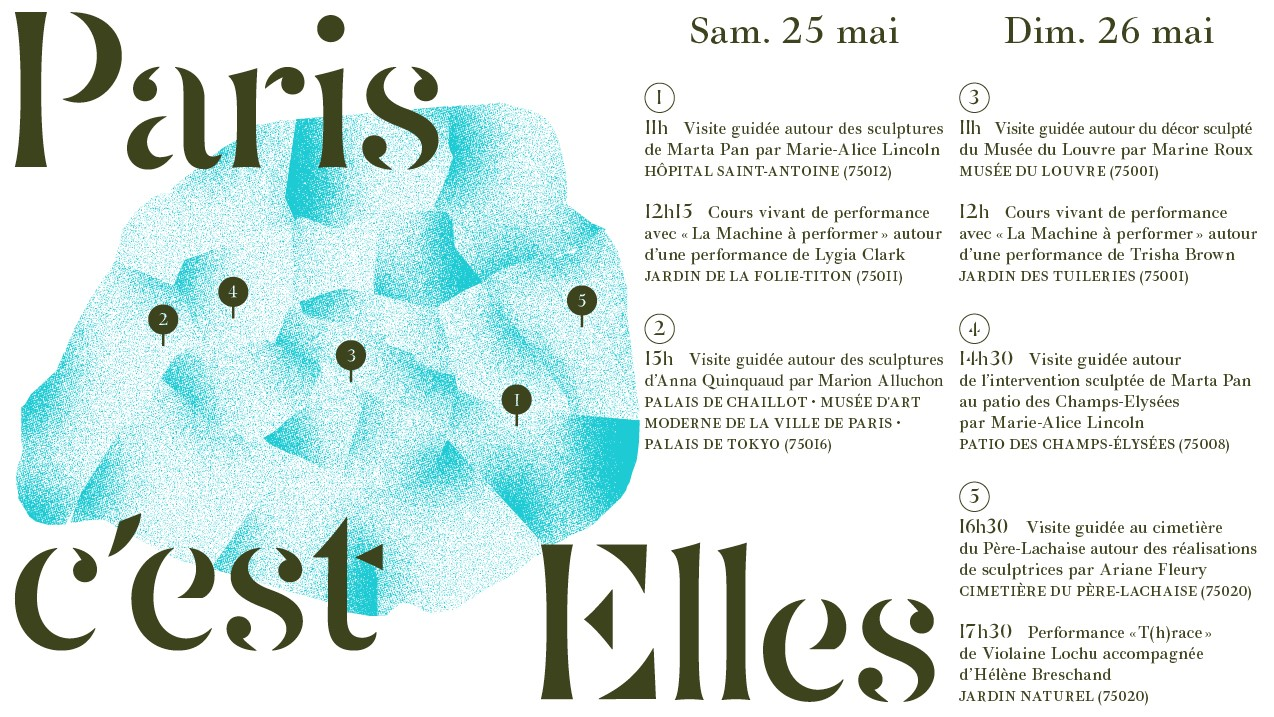 Paris c'est Elles 201 - AWARE Artistes femmes / women artists