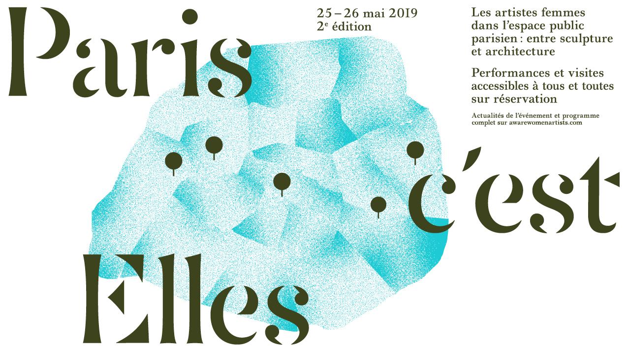 Paris c'est Elles - AWARE Artistes femmes / women artists