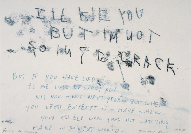 Tracey Emin, An Insane Desire For You - AWARE