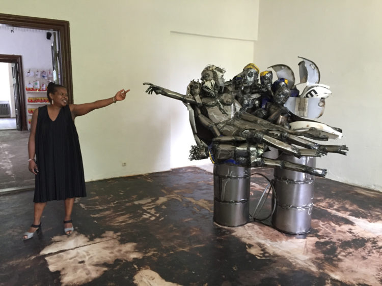 Sokari Douglas Camp — AWARE Women artists / Femmes artistes