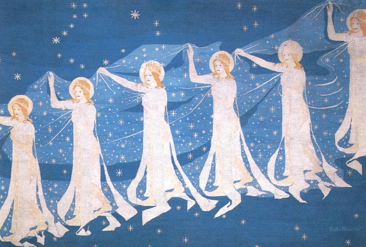 Frida Hansen, An international Art Nouveau artist from Stavanger - AWARE