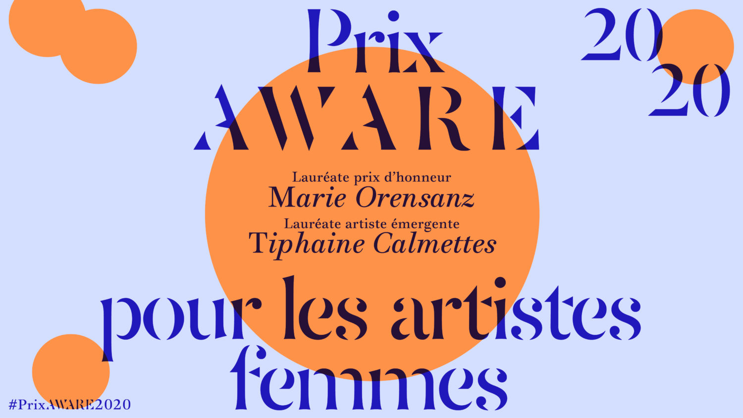 2020 - AWARE Artistes femmes / women artists
