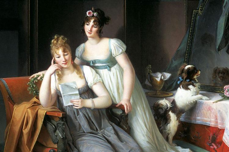 Femmes peintres, des artistes comme les autres (1780-1830) - AWARE