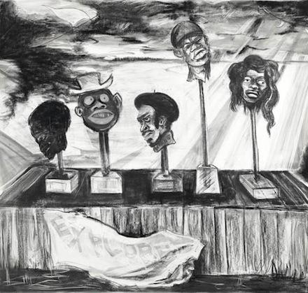 Kara Walker, drawings 1993-2020 - AWARE