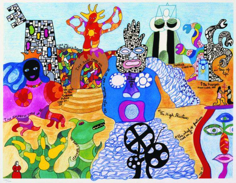 Niki de Saint Phalle - AWARE