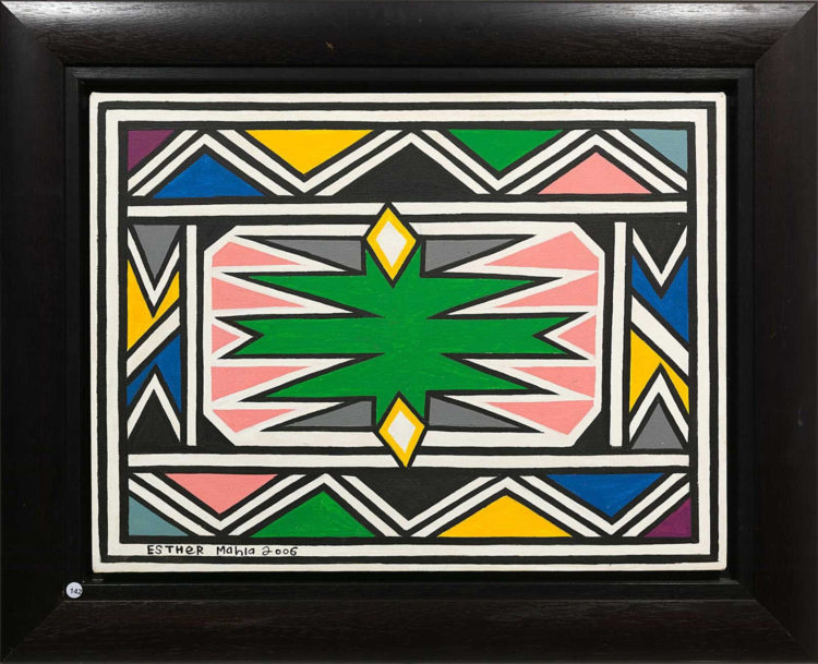 Esther Mahlangu — AWARE Women artists / Femmes artistes