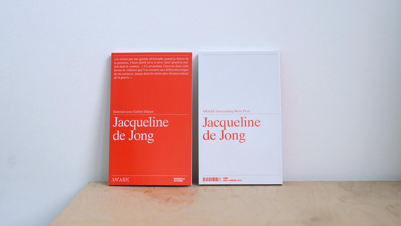 Interview with Jacqueline de Jong - AWARE