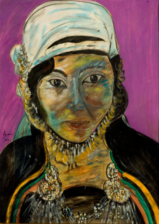 Souhila  Bel Bahar — AWARE Women artists / Femmes artistes
