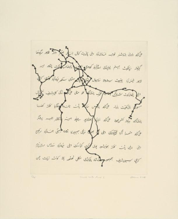 Zarina Hashmi (dite Zarina) — AWARE Women artists / Femmes artistes