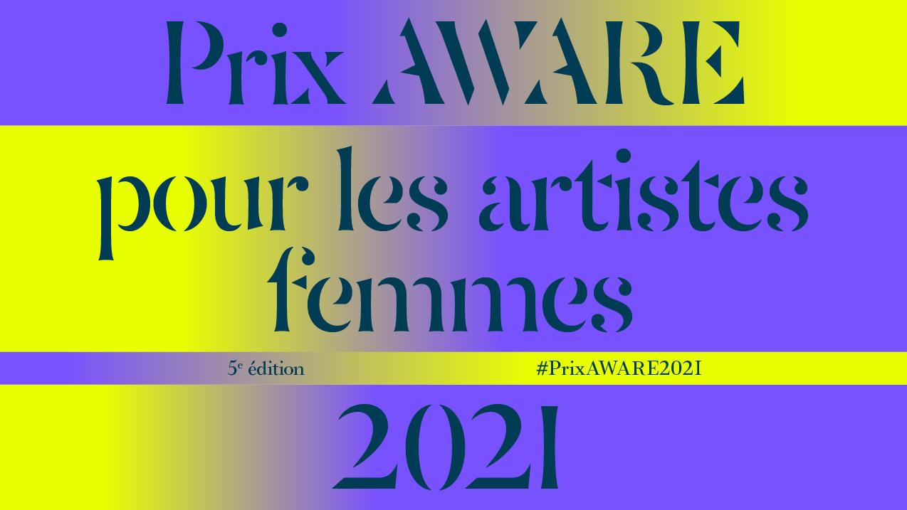 2021 - AWARE Artistes femmes / women artists