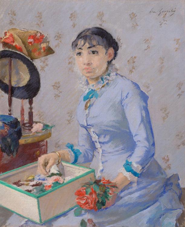 Eva Gonzalès — AWARE Women artists / Femmes artistes