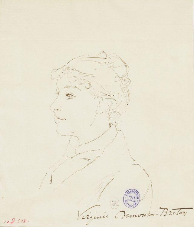 Virginie Demont-Breton — AWARE Women artists / Femmes artistes