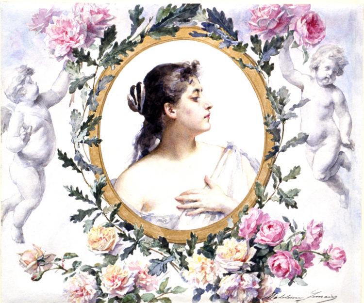 Madeleine  Lemaire (Jeanne Magdelaine Lemaire, dite) — AWARE Women artists / Femmes artistes