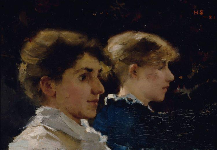 Marianne Stokes (née Maria Léopoldine Preindlsberger) - AWARE
