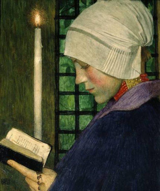 Marianne Stokes (née Maria Léopoldine Preindlsberger) — AWARE Women artists / Femmes artistes